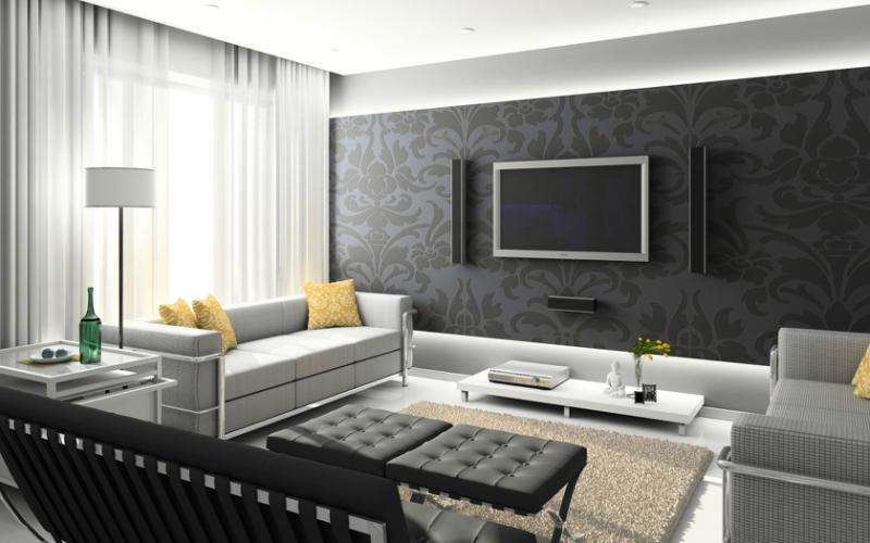 Черный цвет в дизайне интерьера фото 6