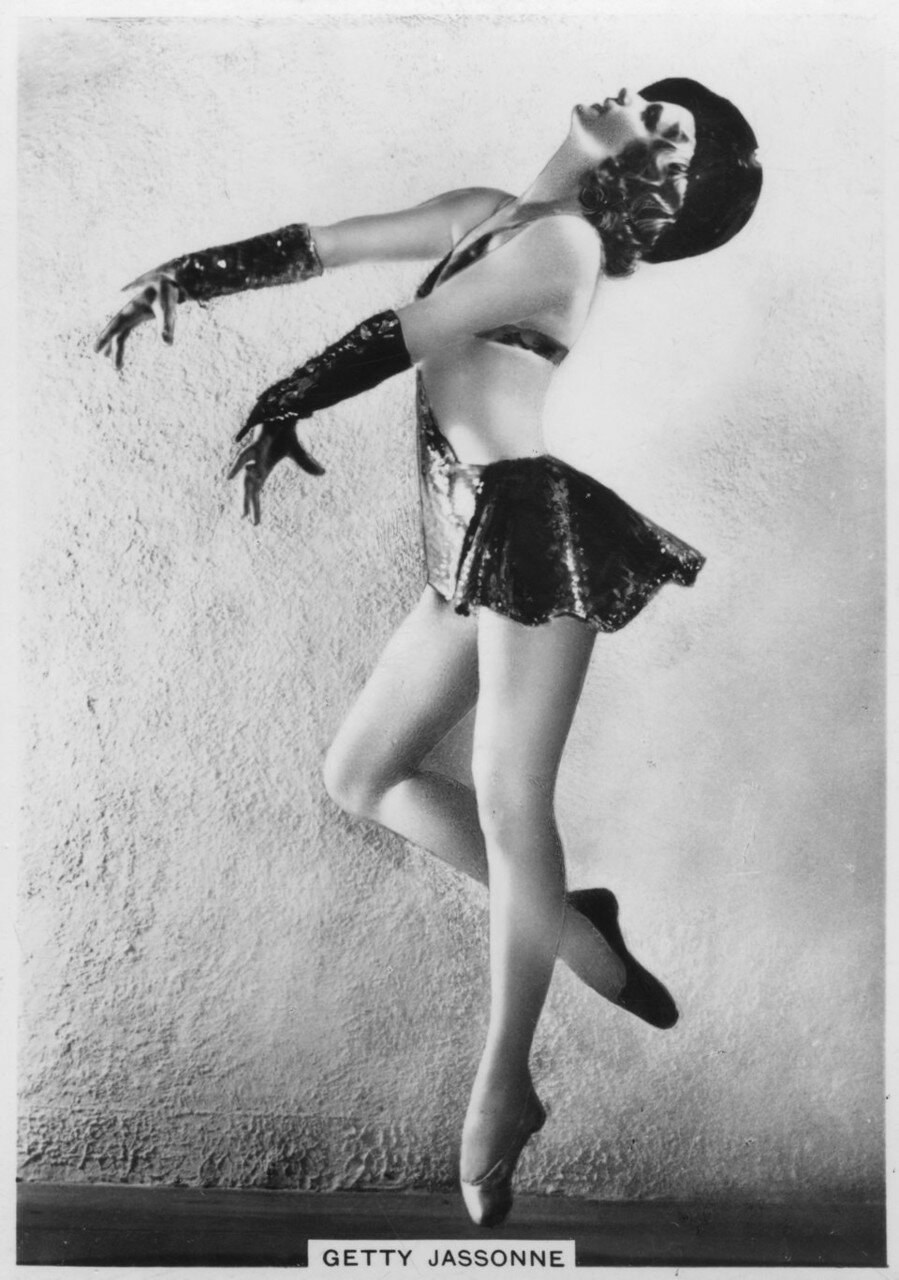 Getty Jassonne, French ballet dancer, c1936-c1939.
