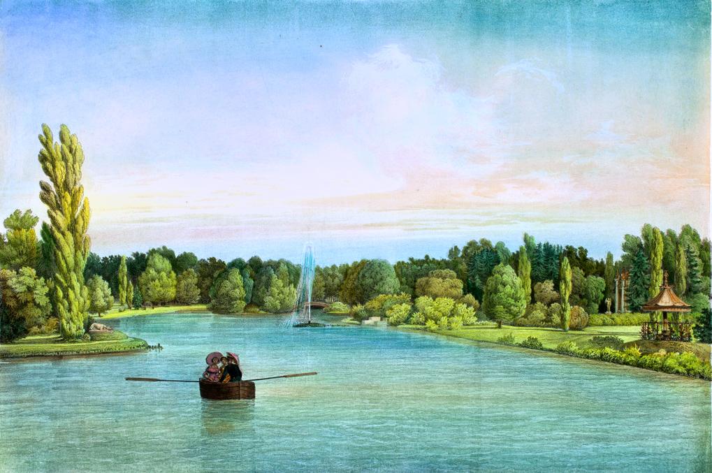 Вид на Ольховый остров.