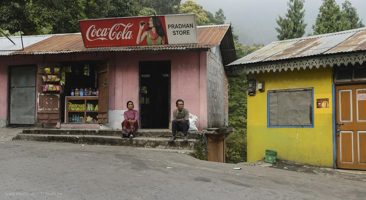 Фото 28. Отзывы о поездке в Гималаи. Цивилизация пришла и высоко в горы. Еще лет через пять национальный колорит сотрется окончательно. 1/160, 5.6, 320, 38.