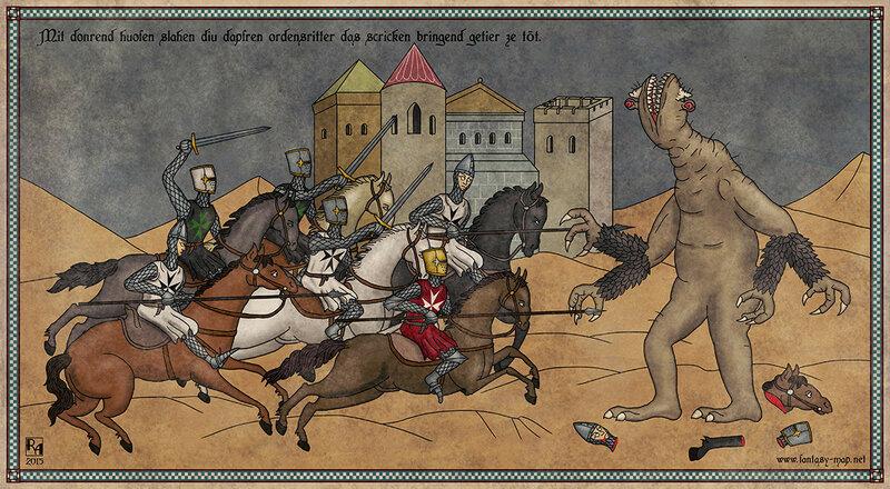 Крестоносцы атакуют Гуга