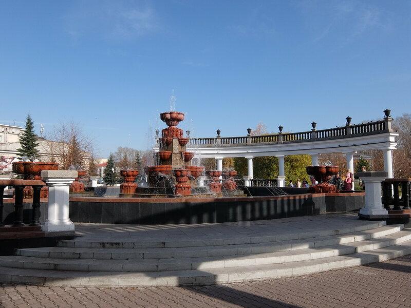 Новокузнецк - Сад Металлургов - Фонтан