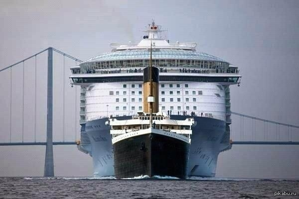 masterok: Размеры Титаника и других транспортных средств