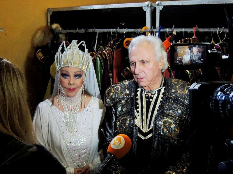 Премьера в Тверском цирке