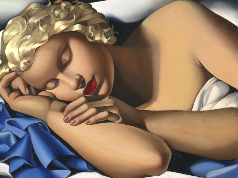 1933 Спящая (Кизетта) Частное собрание.jpg
