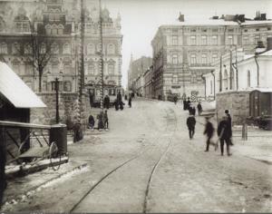 Спуск с Крепостной улицы на Крепостной мост