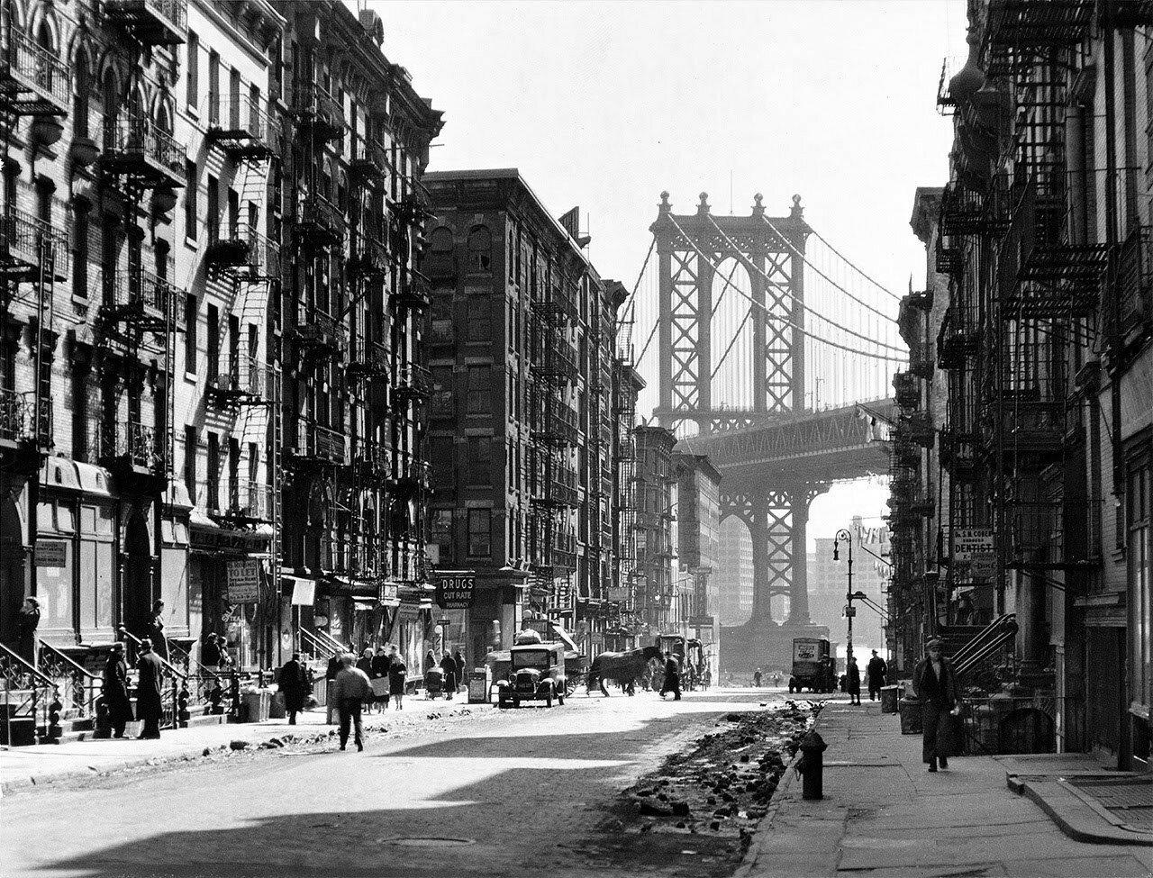 1936. Пайк и Генри-стрит. Нью-Йорк,  6 марта
