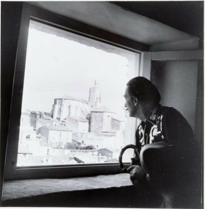 1955. Дали, Париж,