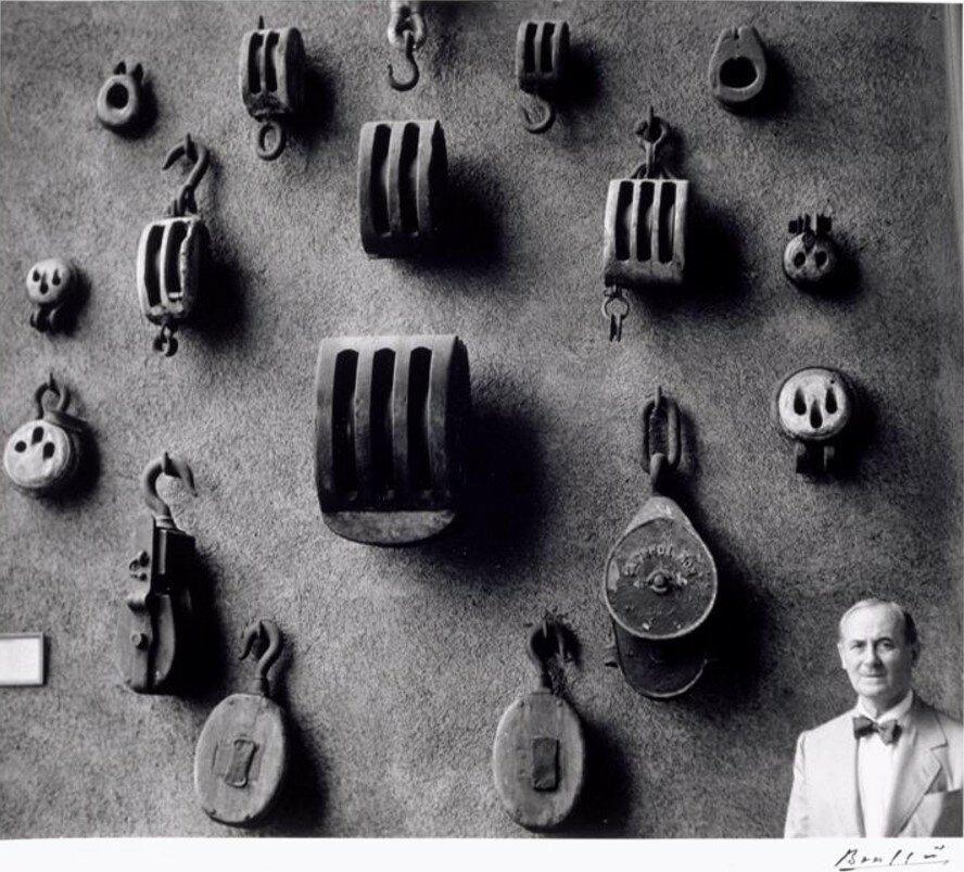 1955. Миро в Морском музее. Барселона