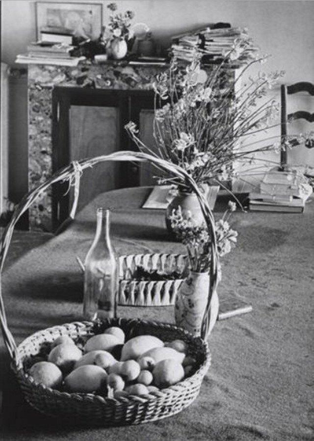 1946. Столовая Пьера Боннара в Ле-Боске