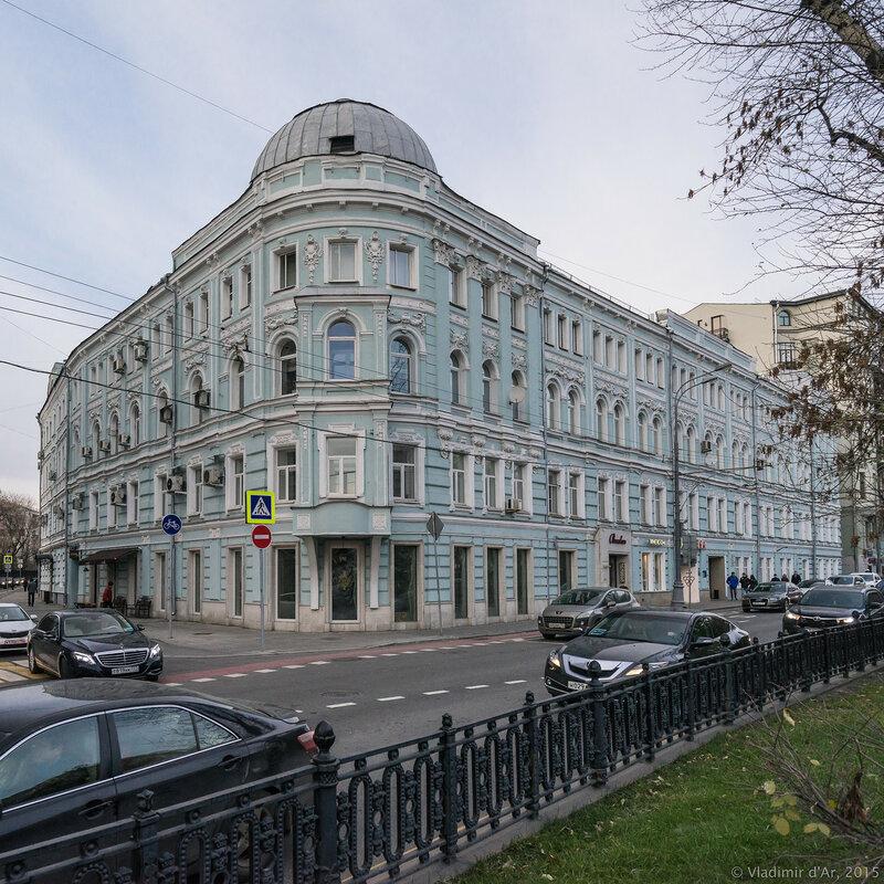 Дом Романова. Тверской бульвар, 9.