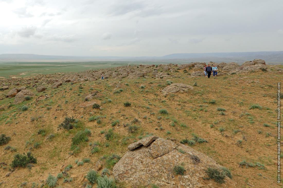 долина каменных конкреций Торыш Казахстан