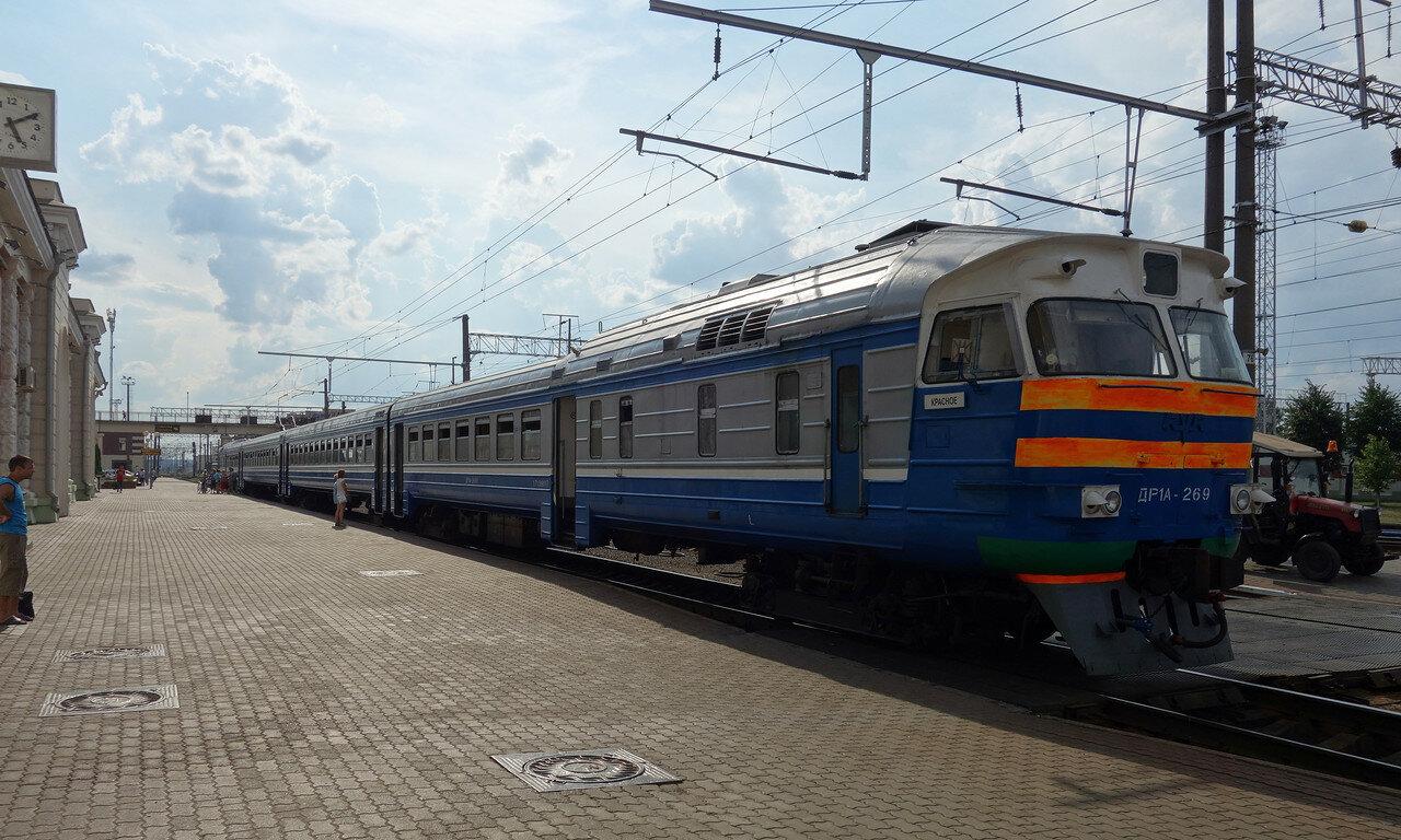 ДР1А-269 на станции Орша-Центральная