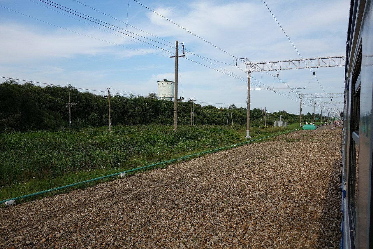 станция Краснóе. Здесь были пути