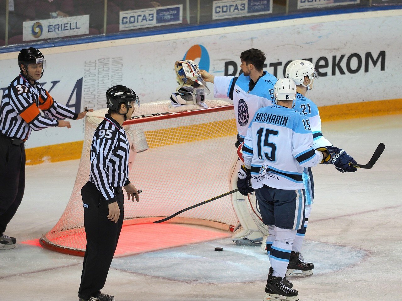58Восток 1/2 плей-офф Металлург - Сибирь 08.03.2016