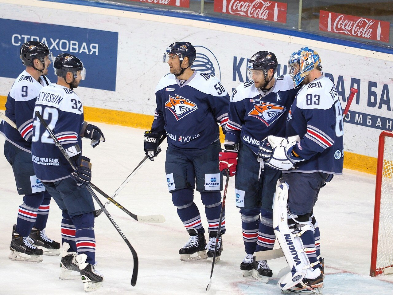 128Восток 1/2 плей-офф Металлург - Сибирь 08.03.2016