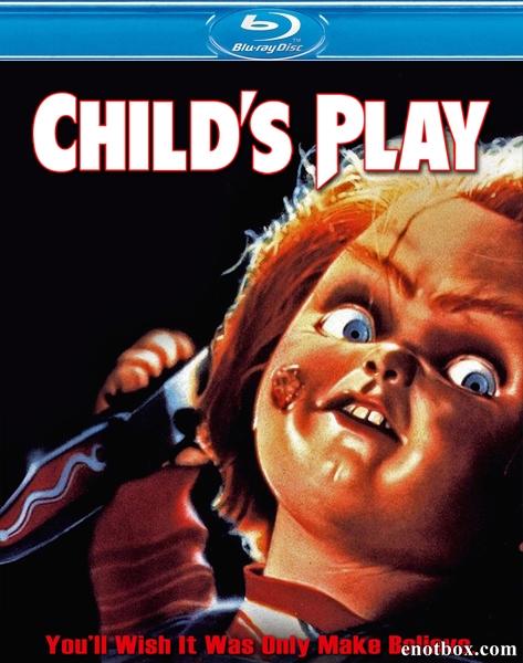 Детские игры / Child's Play (1988/BDRip/HDRip)
