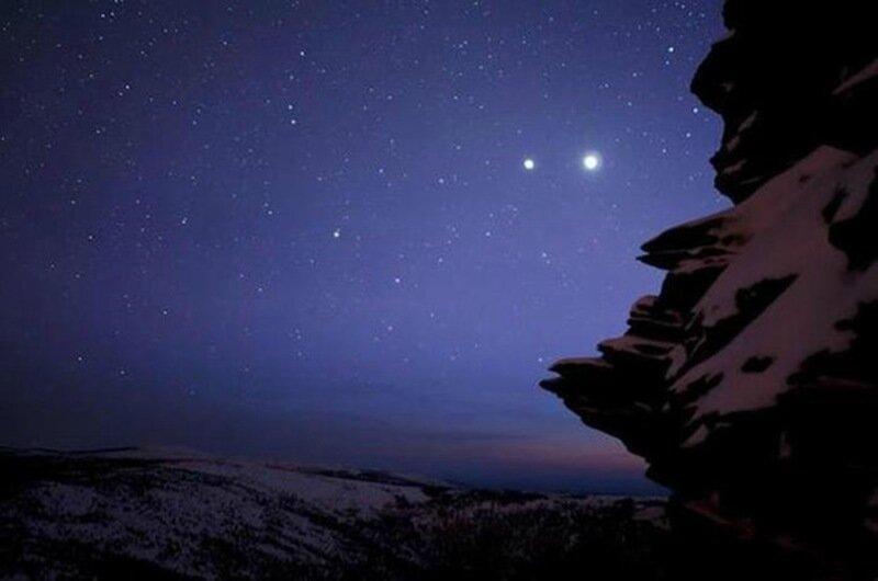 30 июня произойдет соединение планет Юпитер и Венера