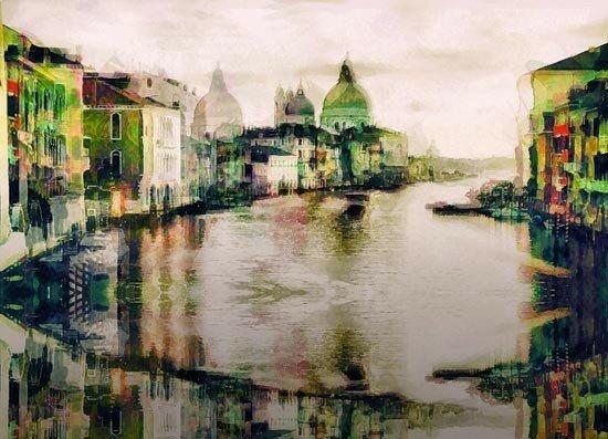 Акварельные рисунки, сделанные в графическом редакторе из фото (40 картинок)