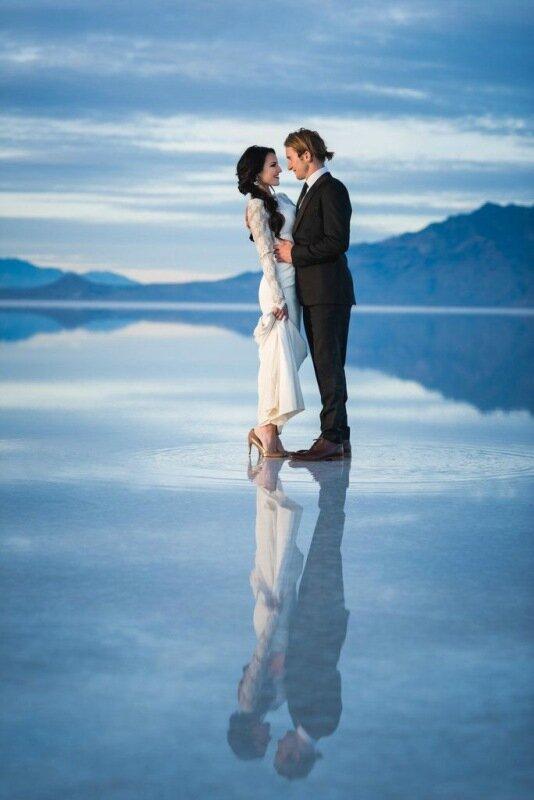Молодожёны, гуляющие по воде. Красивая свадебная фотосессия 0 1cd5c4 2b1dc822 XL