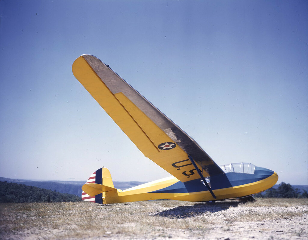 Планер Schweizer TG-2