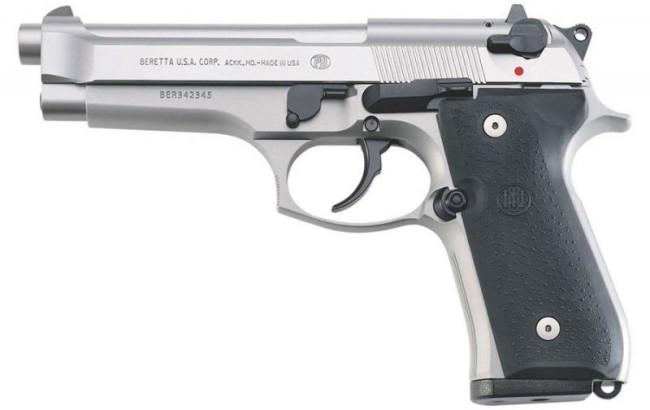 На первой позиции среди лучших пистолетов мира стоит Beretta 92. Оружие создано старейшей компанией
