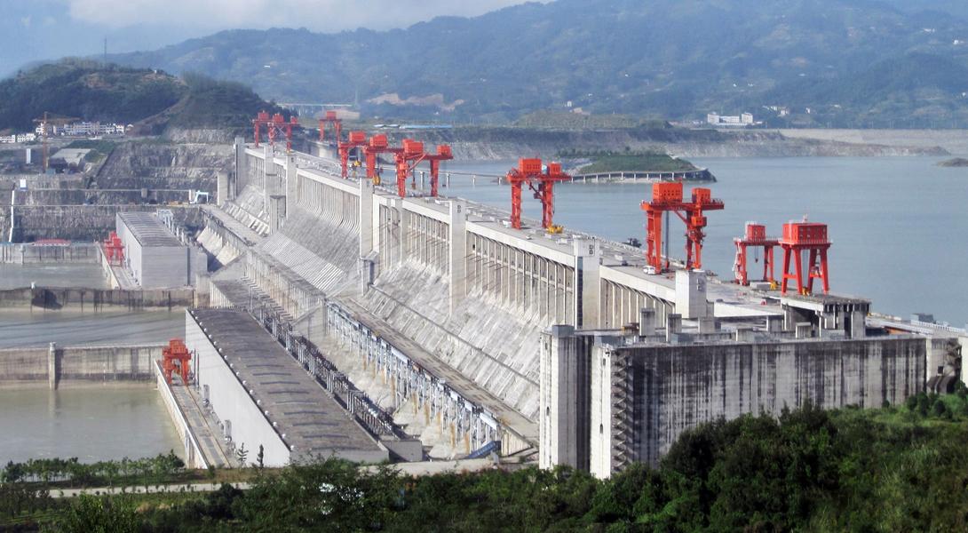 Измерить количество бетона, которое может понадобиться для постройки этого грандиозного сооружения н