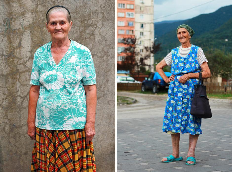 Русские пенсионеры спешат на подиум