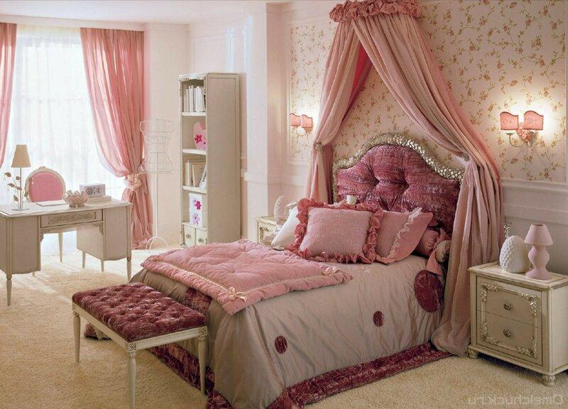 Уютная спальня в стиле прованс