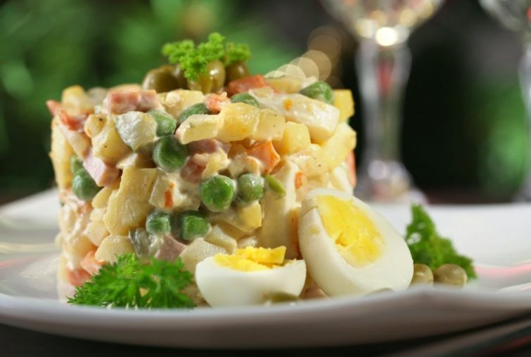 Новогодних салатов пост