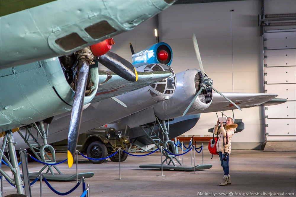 Музей авиации Северного флота