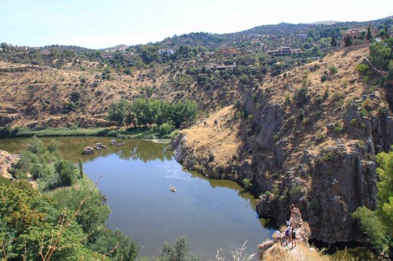 Толедо, река Тахо (Toledo, Tagus River)