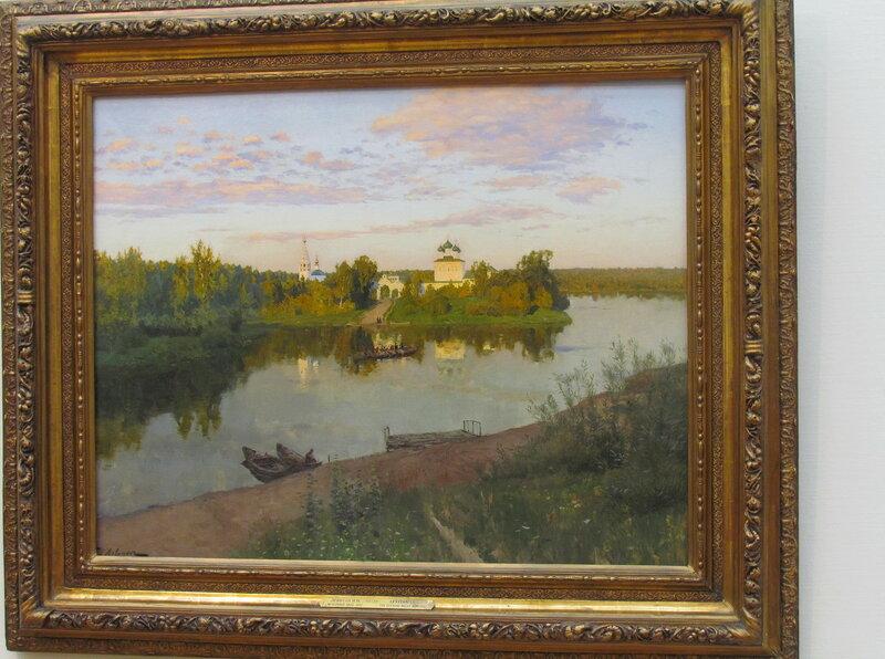 Левитан Исаак Ильич Вечерний звон. 1892.