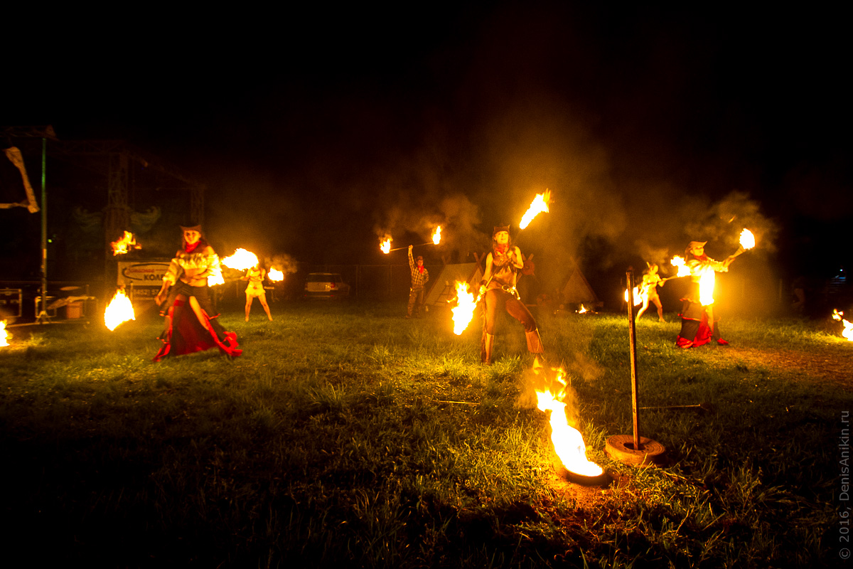 Правый Берег 2015. Танец Огня. 1