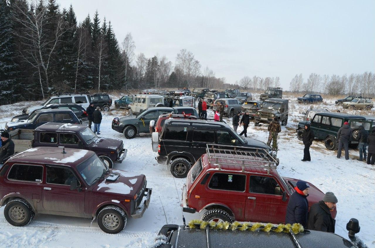 Джиперский Новый Год на Дураковских дорогах (04.01.2016 г.)