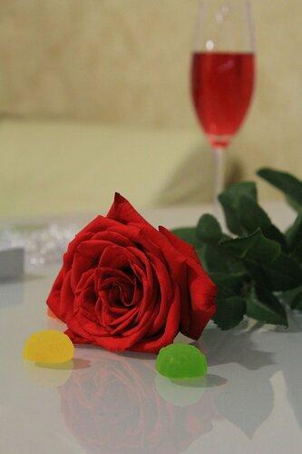 Вечер и розы