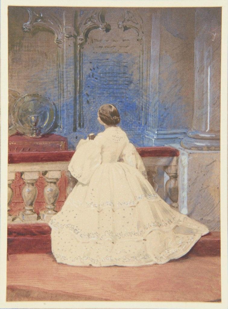 Принцесса Алиса в день конфирмации, 21 апреля 1859 г.
