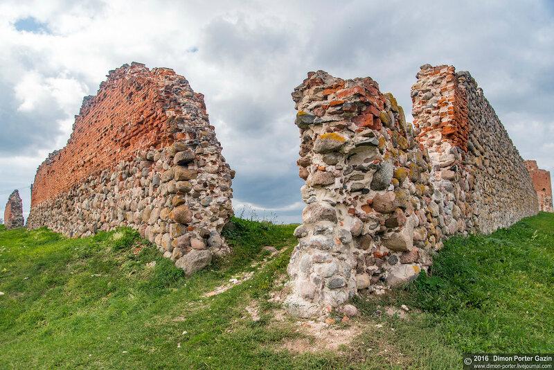 Латвия. Лудза. Замок
