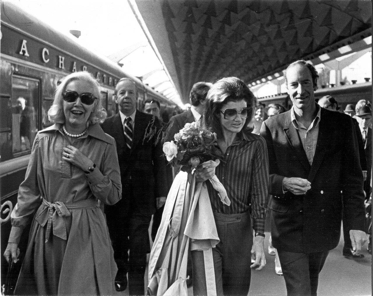 Московский железнодорожный вокзал в Ленинграде. 1976