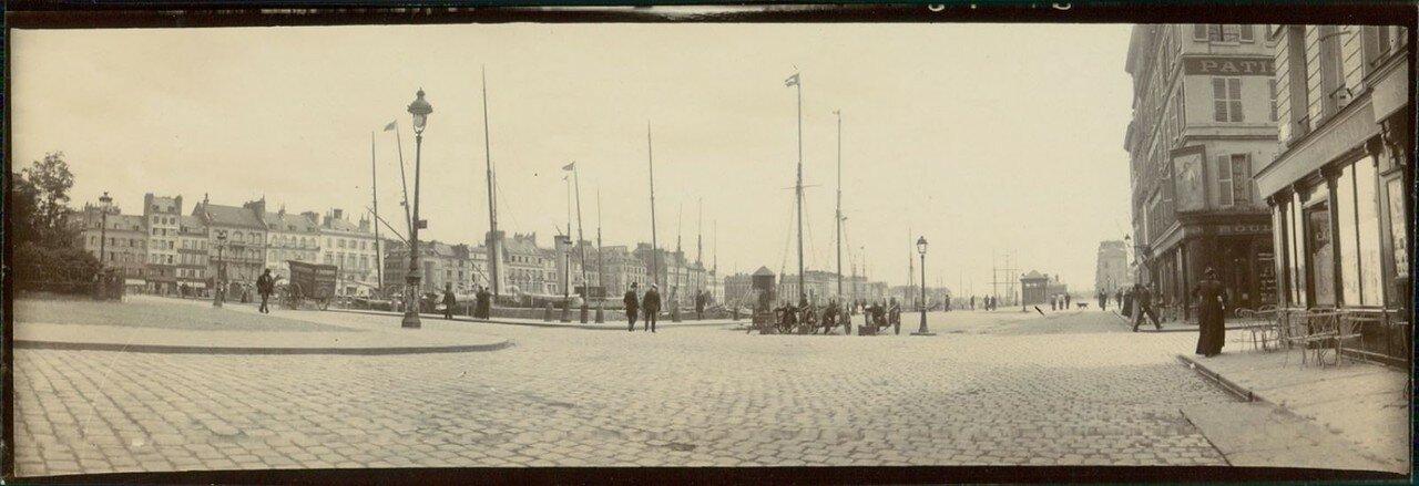 Гавр. Яхта «Dr. Charcot» под флагом Трансвааля