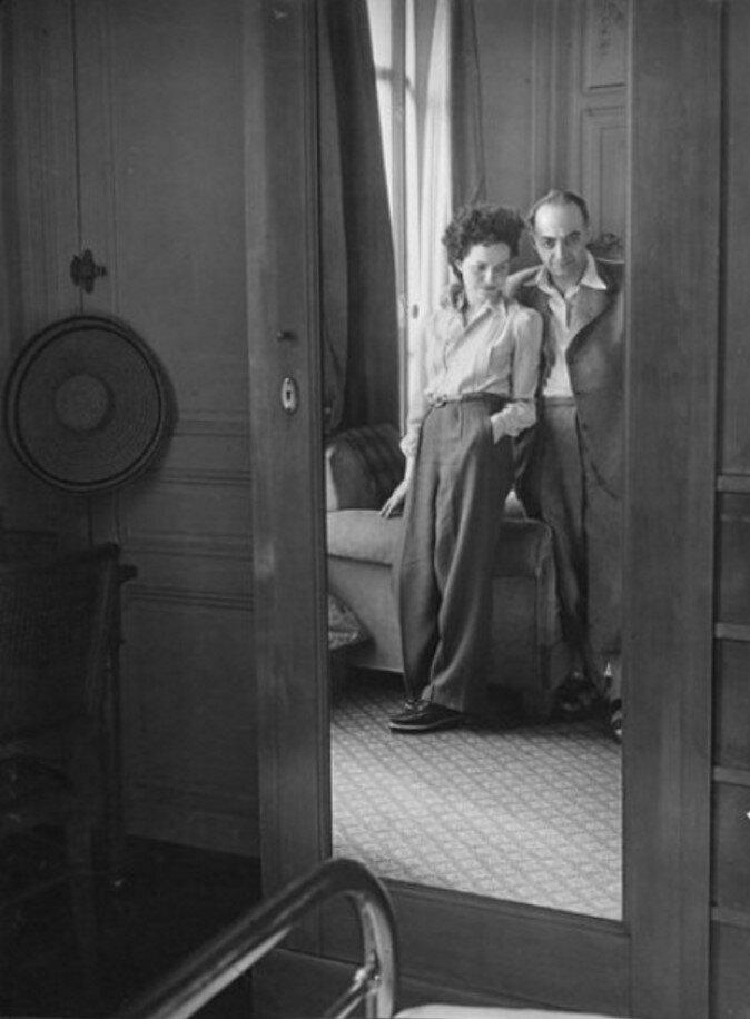 1946. Брассай и Жильберта. Канны