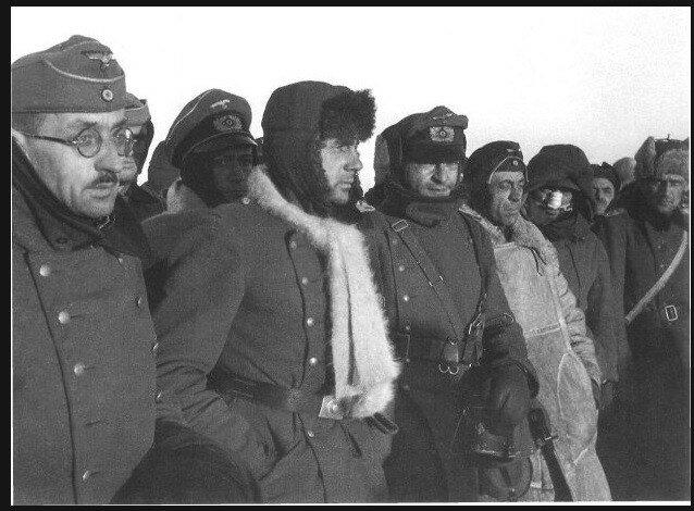 Сталинградская битва, сталинградская наука, битва за Сталинград, немецкие военнопленные, немцы в плену, немцы в советском плену, пленные немцы в советской армии
