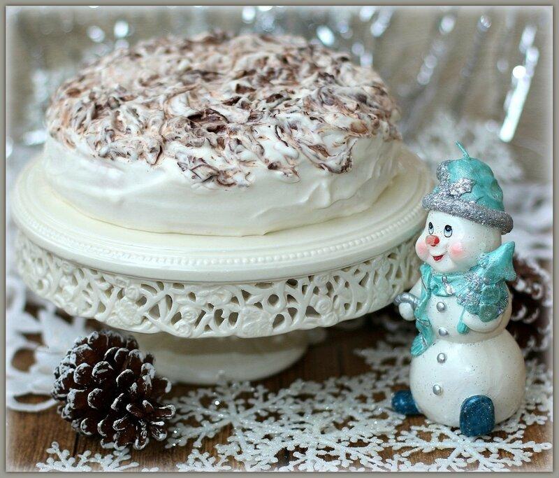 Торт «Снежная вьюга»