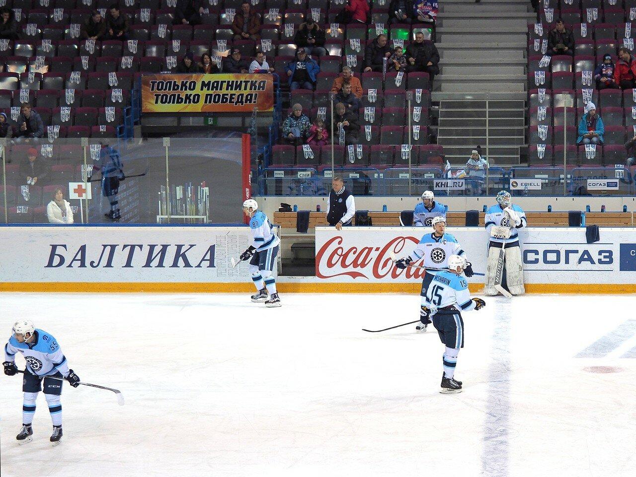 47Плей-офф 2016 Восток 1/2 Металлург - Сибирь 10.03.2016