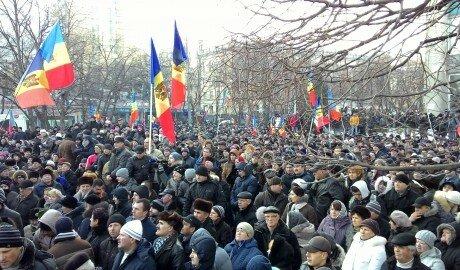 40 тысяч граждан высказали недовольство политикой Молдовы