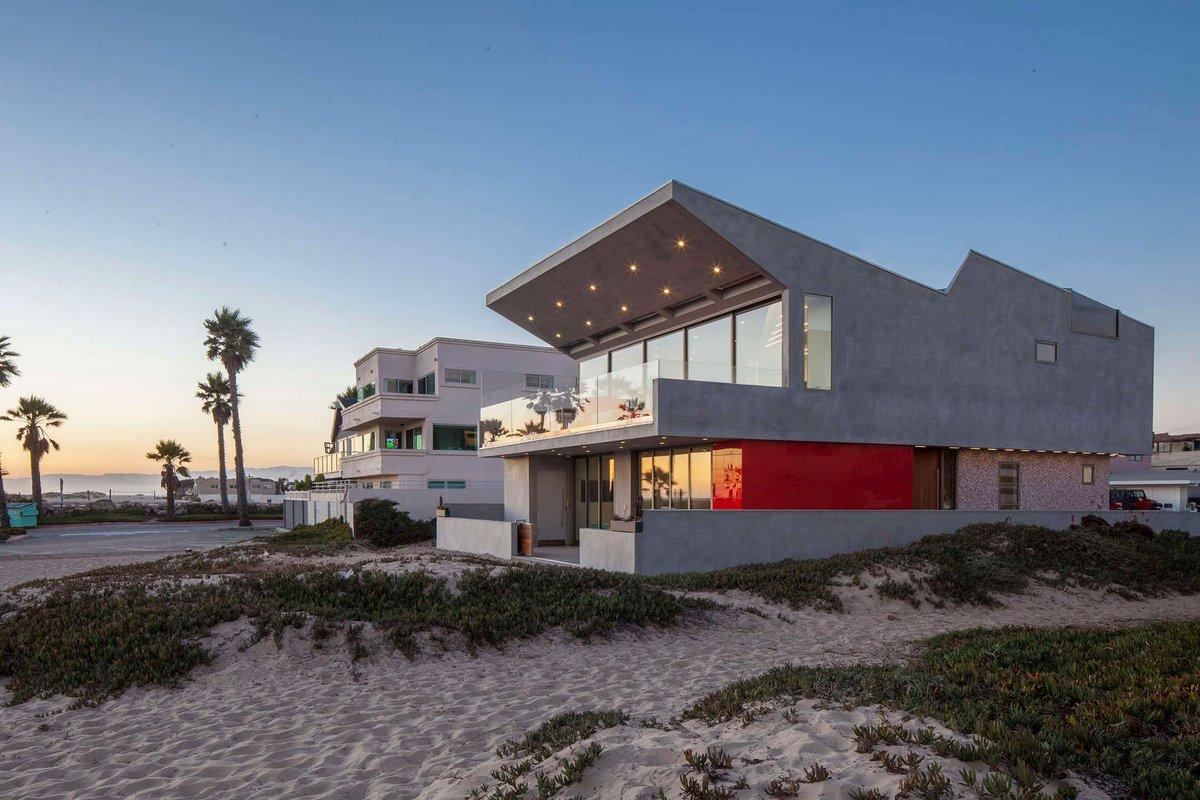 Пляжный дом на побережье Тихого океана