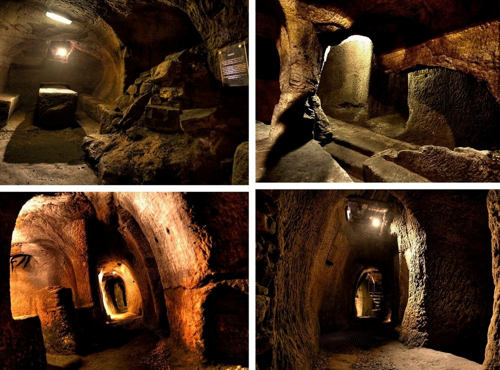 Невероятные подземелья, построенные в разное время в разных уголках планеты