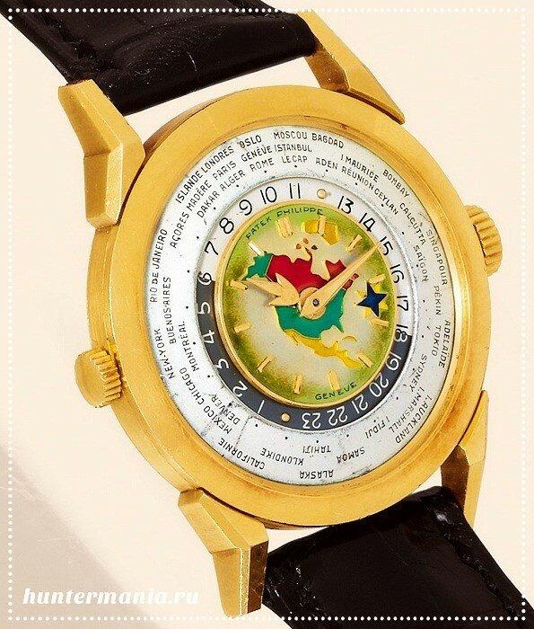 Самые дорогие часы в мире - Patek Philippe Model 2523 Heures Universelles (1953)