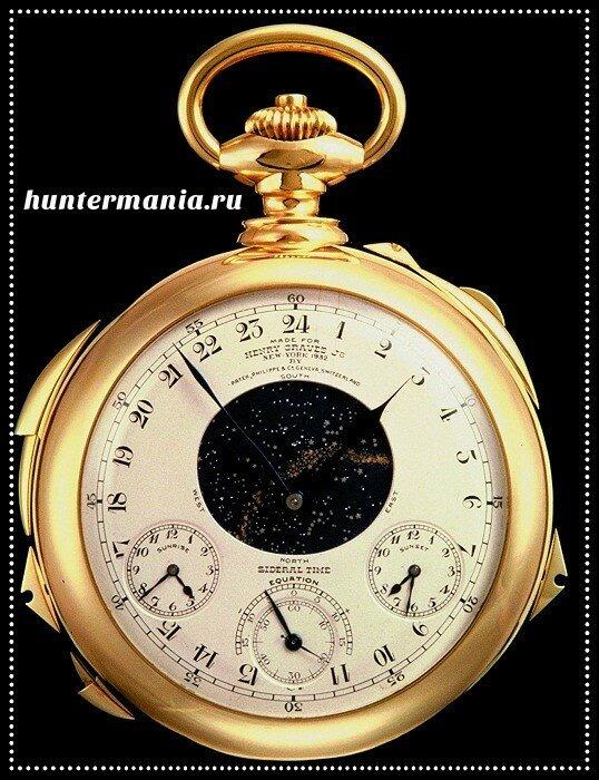 Самые дорогие часы в мире - Patek Philippe Henry Graves Supercomplication