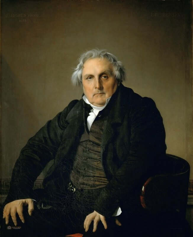 Жан Огюст Доминик Энгр: Филибер Ривьер  Лувр, Париж 1804-05, 116х89